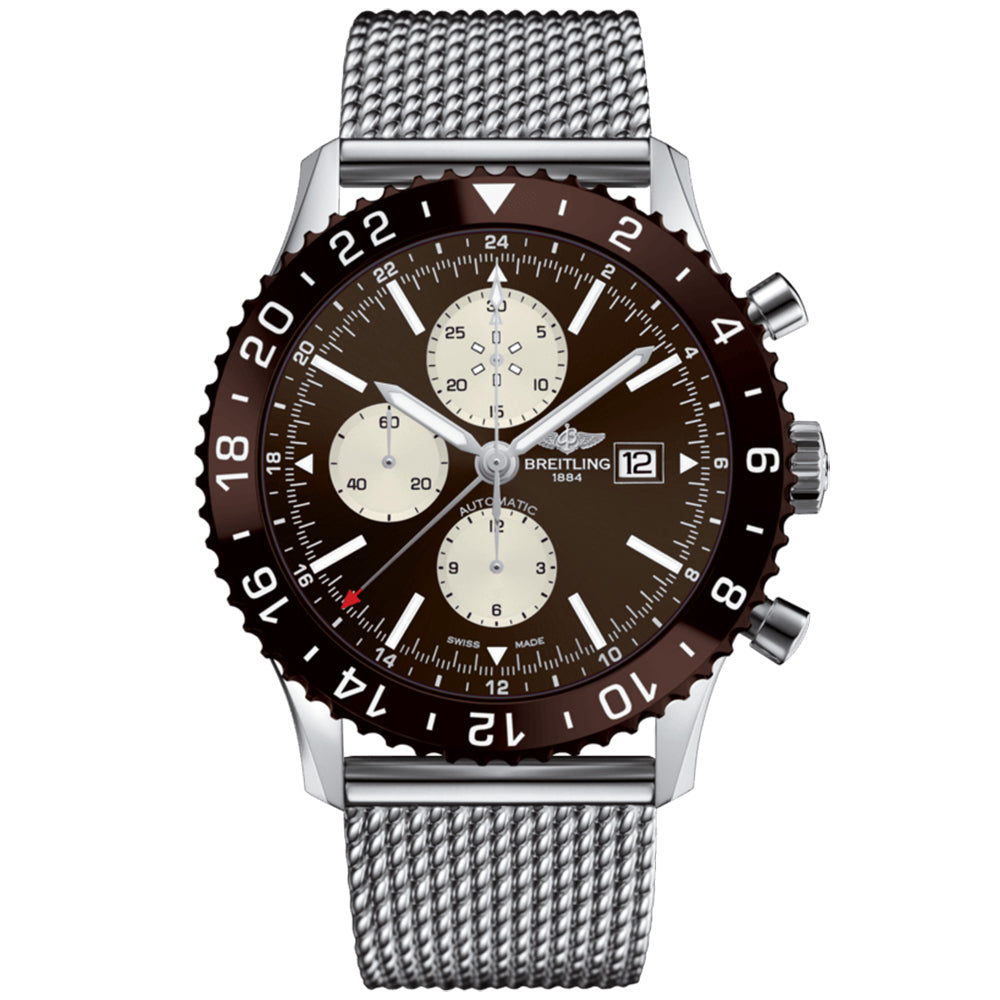 Breitling Men's Chronoliner Watch (Y2431033/Q621)