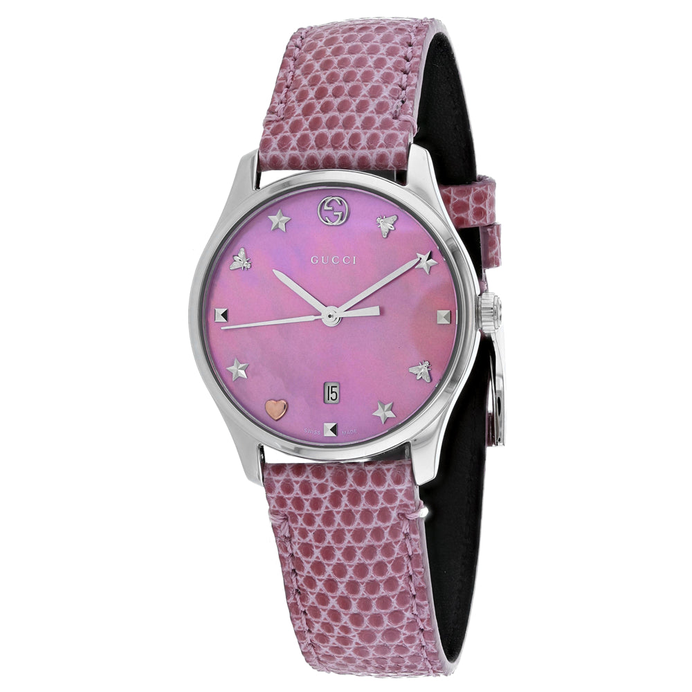 Gucci Women's G-Timeless Watch (YA126586)