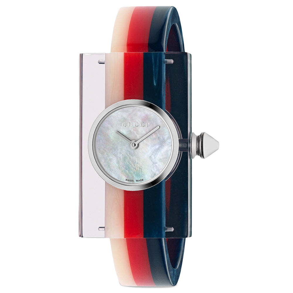 Gucci Women's Plexiglas Watch (YA143523)