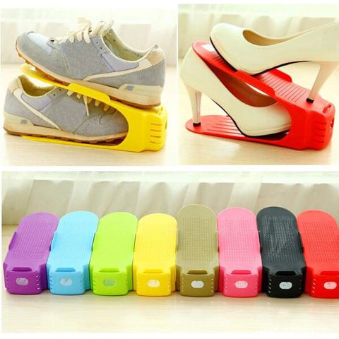 Adjustable Shoe Organizer 10PCS/pack