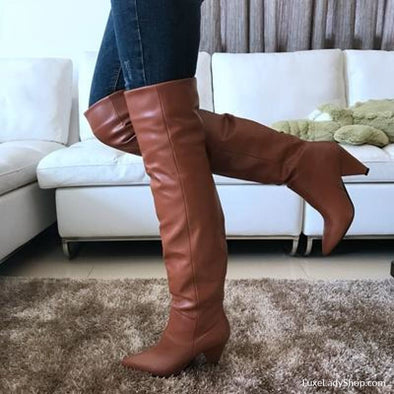 Alle - Boots - Autumn Collection 2019 Boots Free Shipping Heel Boots Knee Boots - Luxe Lady Shop - Shoes Store
