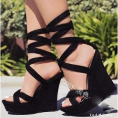 Alondra - Wedges - Free Shipping Luxeladyshop New Online Shoes Platform - Luxe Lady Shop - Shoes Store