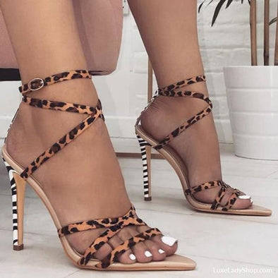 Averie - Sandals - Free Shipping Heel Sandals Luxeladyshop Luxury New - Luxe Lady Shop - Shoes Store