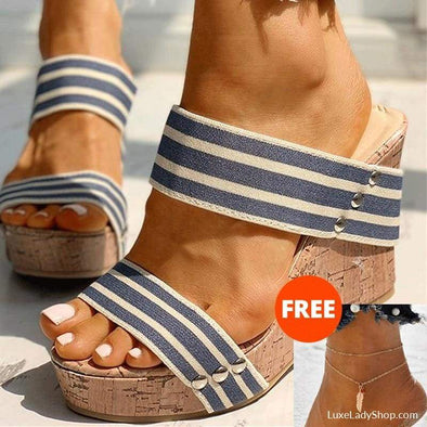 Bernie - Sandals - New, new In, Platform, Platforms, Sandals - Luxe Lady Shop - Shoes Store