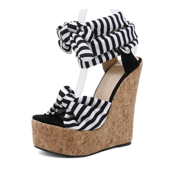 Carol - Wedges - Free Shipping Luxeladyshop New In Online Shoes Platform - Luxe Lady Shop - Shoes Store