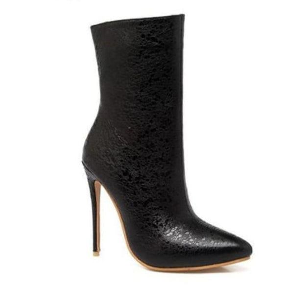 Celebrity - Boots - Ankle Boots Autumn Heel Boots Luxeladyshop New - Luxe Lady Shop - Shoes Store