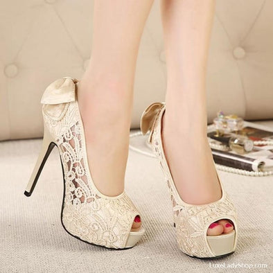 Darlyne - Wedding - Free Shipping Heels Luxeladyshop Luxury New - Luxe Lady Shop - Shoes Store