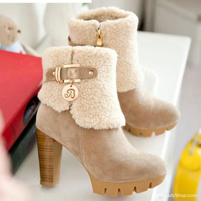 Elsa - Boots - Ankle Boots Autumn Collection 2019 Booties Boots Casual Boots - Luxe Lady Shop - Shoes Store