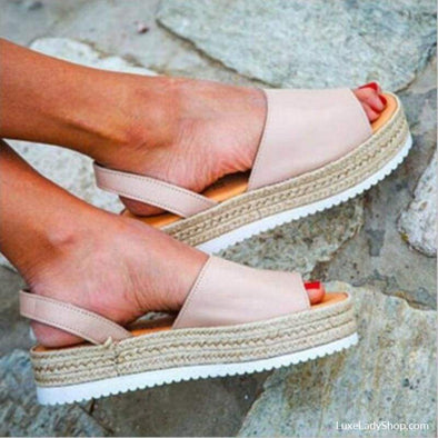 Europe - Sandals - Casual Free Shipping Luxeladyshop Luxury New In - Luxe Lady Shop - Shoes Store