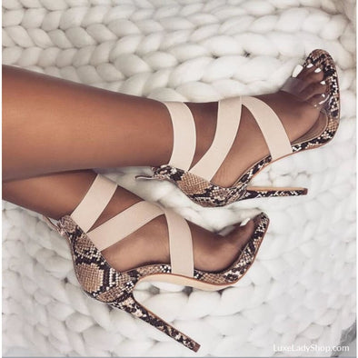 Hailey - Sandals - Best Selling Free Shipping Heel Sandals Luxeladyshop Luxury - Luxe Lady Shop - Shoes Store