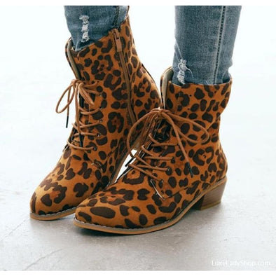 Hope - Boots - Ankle Boots Autumn Collection 2019 Booties Casual Boots Flat Boots - Luxe Lady Shop - Shoes Store