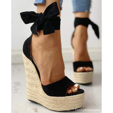 Leta - Wedges - New,new In,platform,platforms,sandals - Luxe Lady Shop - Shoes Store