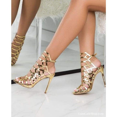Mujer - Sandals - Free Shipping Heel Sandals Luxeladyshop Luxury New - Luxe Lady Shop - Shoes Store