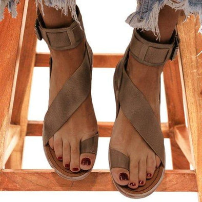 Rosemary - Sandals - Flat Sandals,flats,flats Sandals,new,new in - Luxe Lady Shop - Shoes Store