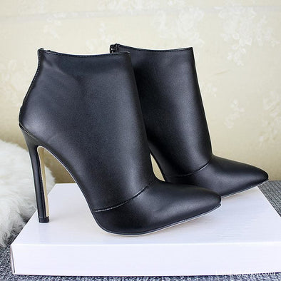 Rossa - Boots - Ankle Boots Autumn Collection 2019 Best Selling Booties Boots - Luxe Lady Shop - Shoes Store