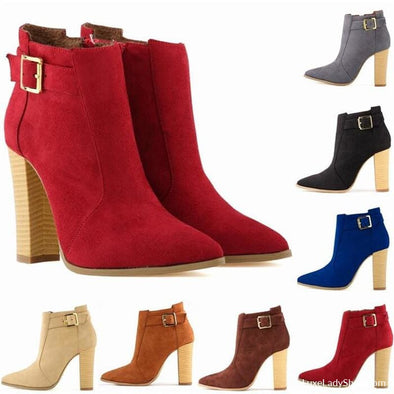 Sabby - Boots - Ankle Boots Autumn Collection 2019 Booties Boots Free Shipping - Luxe Lady Shop - Shoes Store