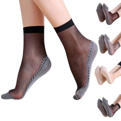Splice Fashion Transparent Ladies thin Silk Sock - Socks - New, new In, Socks - Luxe Lady Shop - Shoes Store