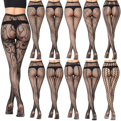 Thin Women Pantyhose Solid Fishnet Tights - Socks - Autumn Collection 2019 Free Shipping New New In Socks - Luxe Lady Shop - Shoes Store
