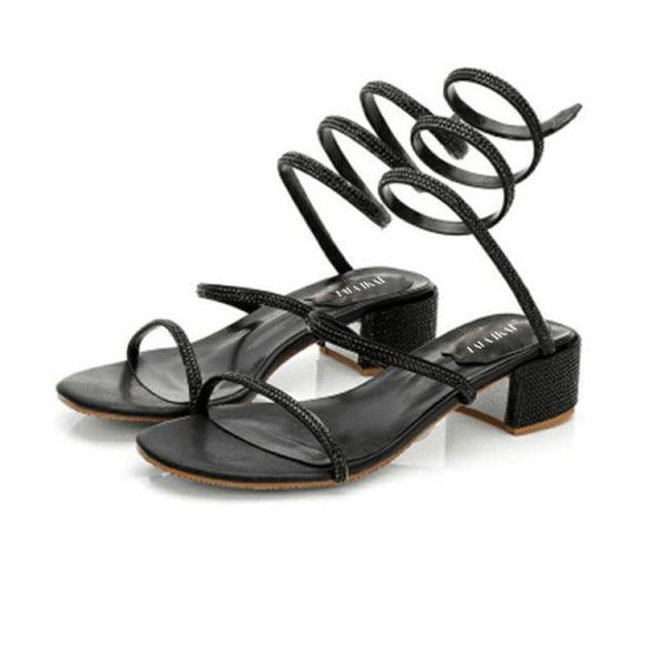 Tirra - Sandals - Flats Luxeladyshop New Online Shoes Sandals - Luxeladyshop