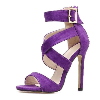 Violete - Sandals - Heel Sandals Heels New In - Luxe Lady Shop - Shoes Store