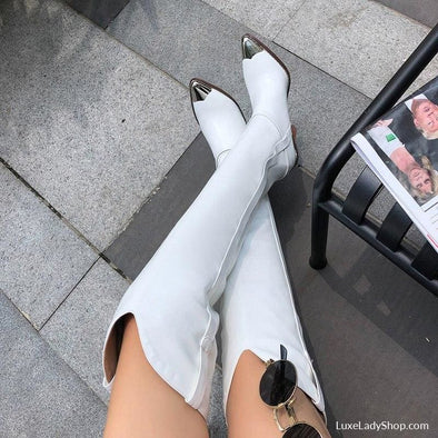 Zole - Boots - Autumn Collection 2019 Free Shipping Heel Boots Knee Boots Luxury - Luxe Lady Shop - Shoes Store