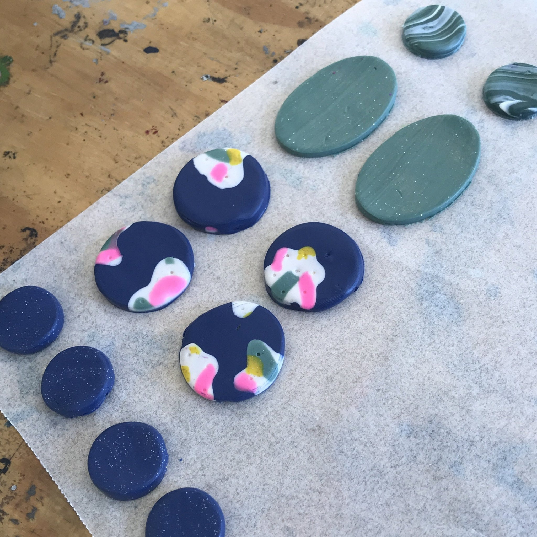 Polymer Clay Earring Workshop - Saturday 28th November