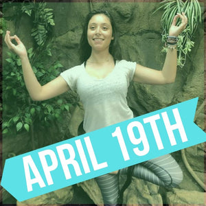 SNAKE YOGA AT THE REPTARIUM - APRIL 19TH