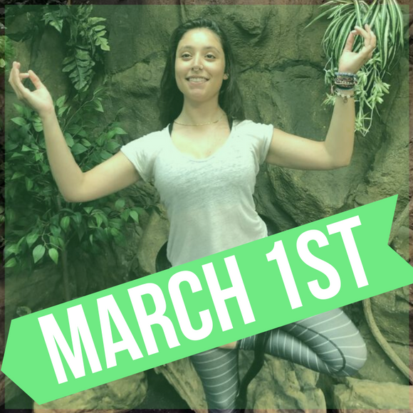 SNAKE YOGA MARCH 1ST AT THE REPTARIUM