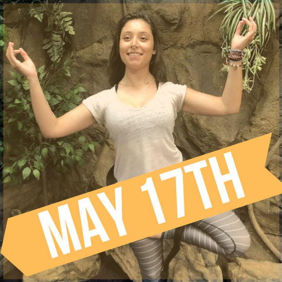 SNAKE YOGA AT THE REPTARIUM - MAY 17TH