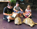 READING TO REPTILES AT THE REPTARIUM - FEBRUARY 20TH