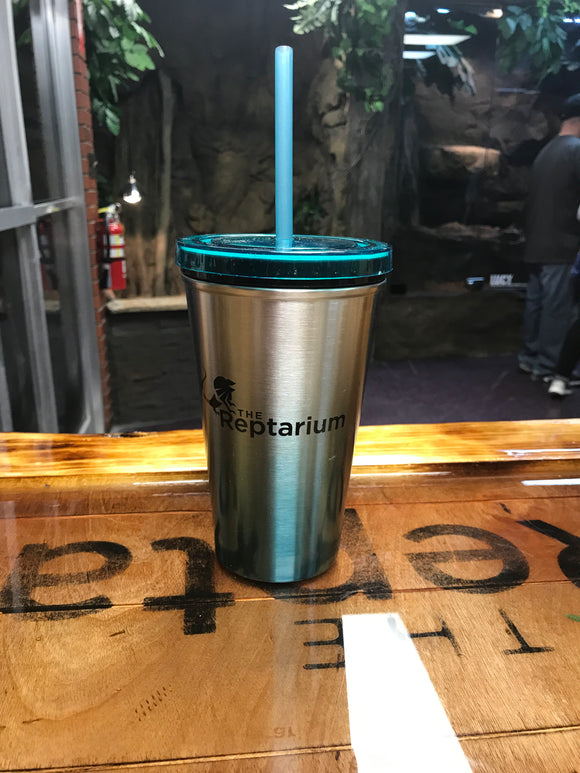 The Reptarium Tumbler With Straw - The Reptarium