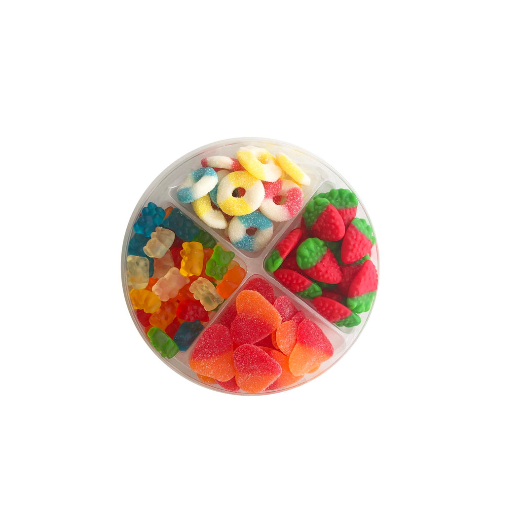 Candy Sectional Box (4 Section)