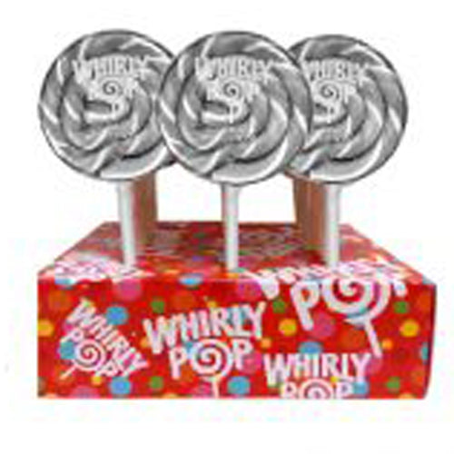 Silver Whirly Pop Lollipop, 1.5 oz