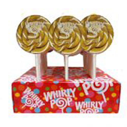 Gold Whirly Pop Lollipop, 1.5 oz