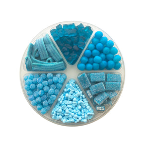 Baby Boy Candy Tray, 6 Section