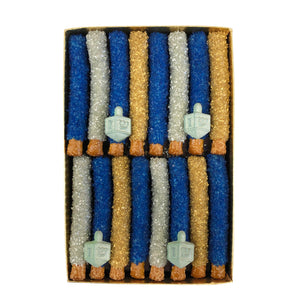 Chanukah Mini Pretzel Rod Gift Box, Assorted Sizes