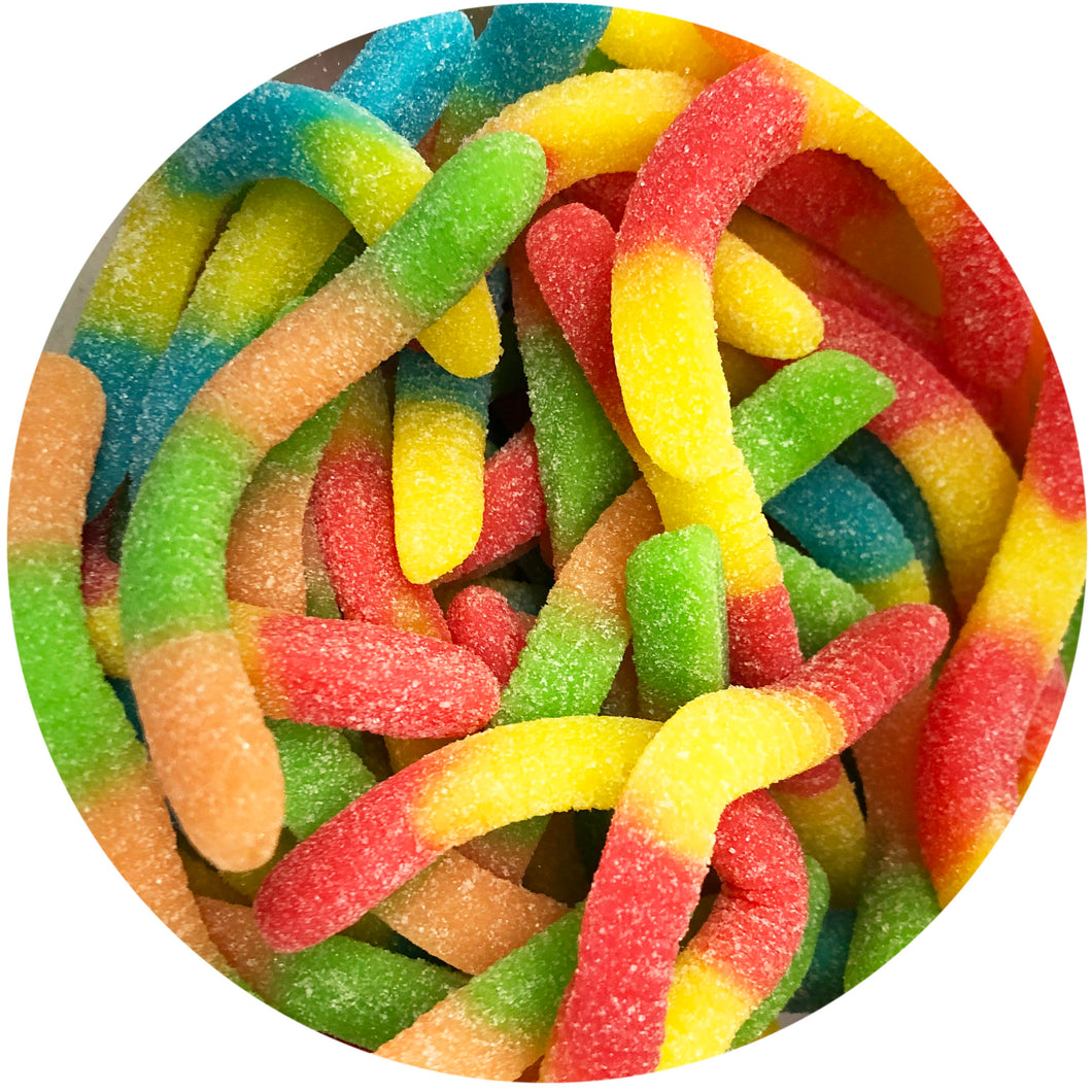 Fizzy Gummy Worms