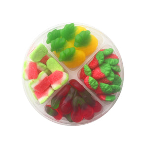 Candy Fruit Platter, 4 Section