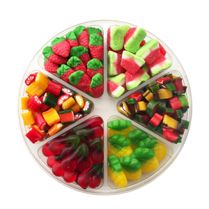 Tu B'Shvat Candy Fruit Platter, Assorted Sizes