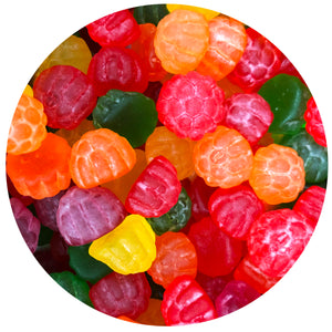 Jelly Shaped Raspberries, 1 Pound