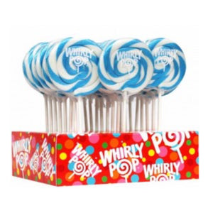 Light Blue Whirly Pop Lollipop, 1.5 oz