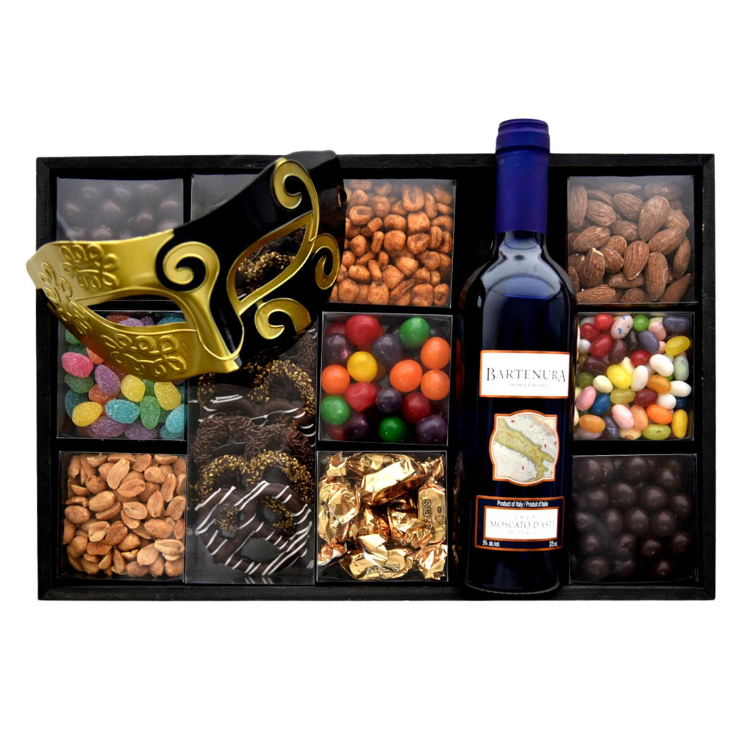 Deluxe Purim Box with Mini Bartenura
