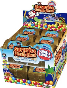 Dubble Bubble Pirate Treasure Chest, 12 Count