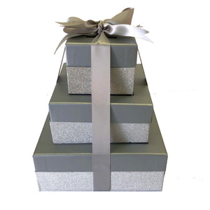 Gift Box Tower- Triple Stack
