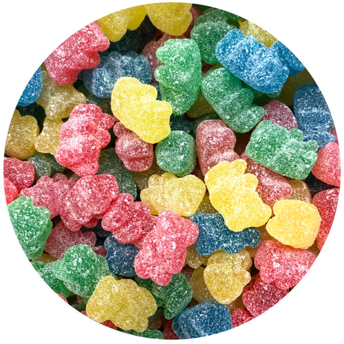 Super Sour Bears- Now 500 g (used to be 1 lb)