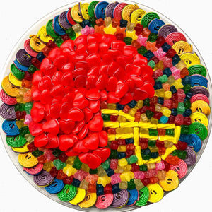 Football Helmet Candy Platter