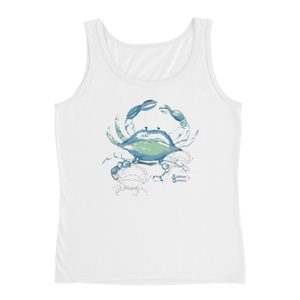 Shadow Crab Tank - Relaxed - Scuba Sisters Diving Apparel