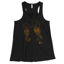 Load image into Gallery viewer, Ladies Seahorse Tank by Scuba Sisters - Black