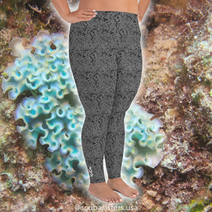 Elysia Plus Size Leggings - Scuba Sisters Diving Apparel
