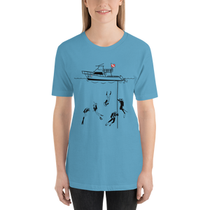 Diving With My Scuba Sisters Tee - Unisex - Scuba Sisters Diving Apparel